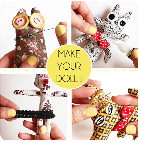 Make your doll - Concours Creabox