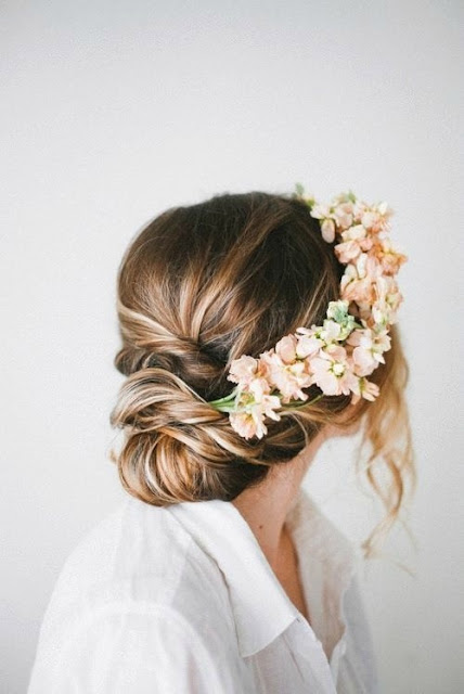 Side.Bridal.Floral.Crown