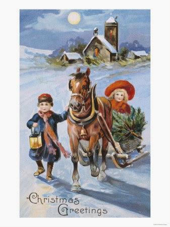 Carte postale ancienne Noël