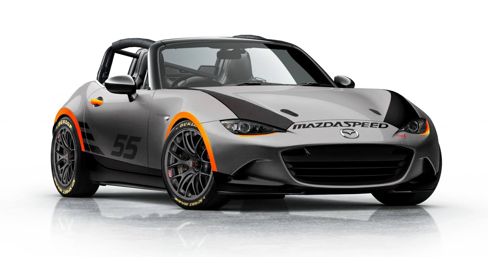 new 2016 mazda mx 5 gets a badass tuning render. Black Bedroom Furniture Sets. Home Design Ideas