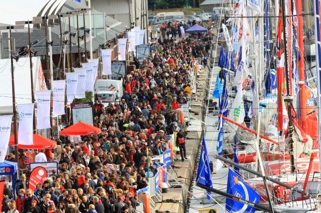 Saint-Malo bientôt à l'heure de la Route du Rhum 2014 !