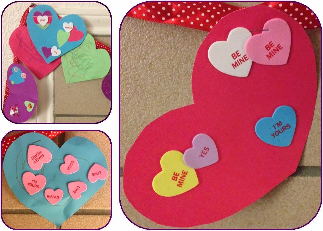 DIY decorative Valentine heart banner ~ Life in Random Bits #valentine #diy