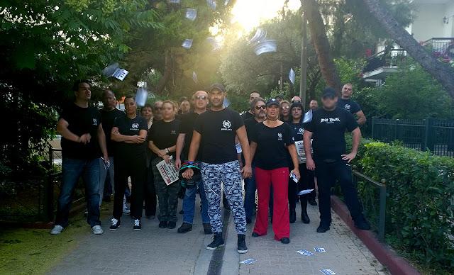 Χρυσή Αυγή ΠΑΝΤΟΥ: Δυναμική δράση στο Μαρούσι - ΔΕΝ ΛΥΓΙΖΟΥΜΕ!