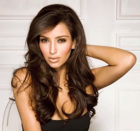 kim kardashian hairstyles for long hair