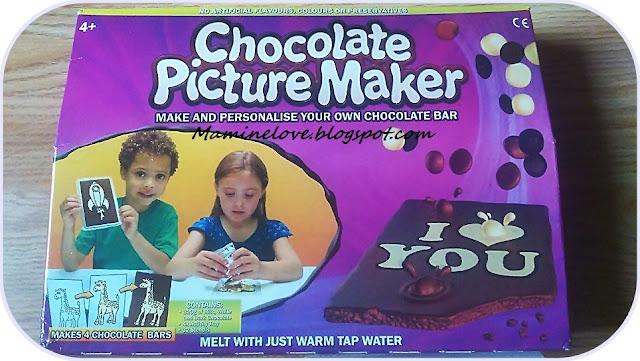 Kreatywnie i Smacznie (to co dzieci lubią najbardziej) - Chocolate Picture Maker.