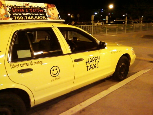 happy cab Services anytime|computerized dispatches corporate accounts available|advance reservations available|24 hour package delivery service.