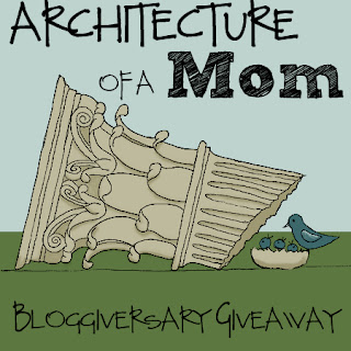 Bloggiversary Giveaway at Architecture of a Mom