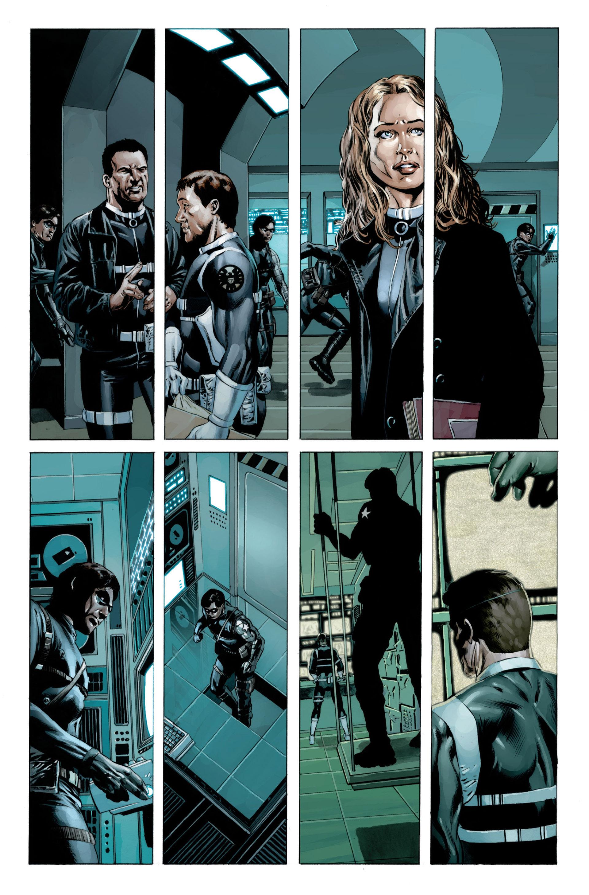 Captain America (2005) Issue #23 #23 - English 4