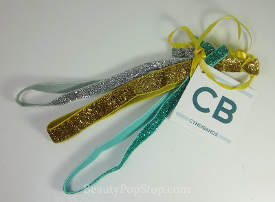 CyndiBands create 3 pack skinny glitter headband set review