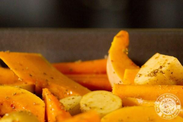 kruidige oranje schotel