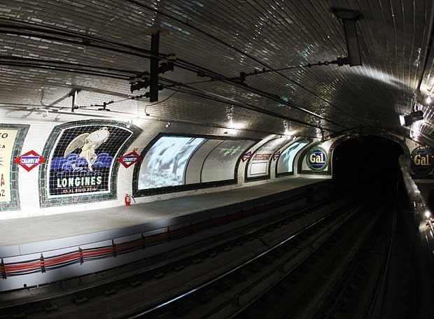 QUINTA FASE: La Estacion Fantasma de Chamberí y leyendas urbanas ...