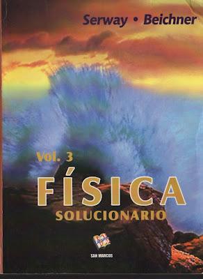 física serway solucionario español vol.3