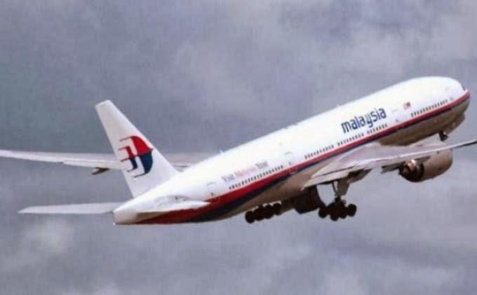 pesawat milik Malaysia Airlines  MH370