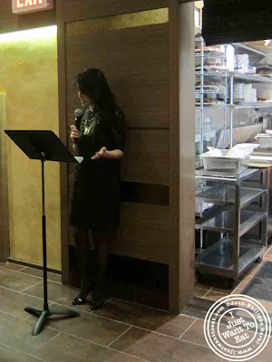 Image of Michelle Park at the opening ceremony of BCD Tofu House in Korea Town NYC, New York