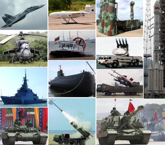 ¿Como debe ser la Fuerza Armada de la Primera Potencia Energetica Mundial?