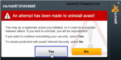 Cara Menghapus Avast Antivirus di Windows7