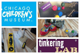 Chicago Children's Museum Tinkering Lab Exhibit