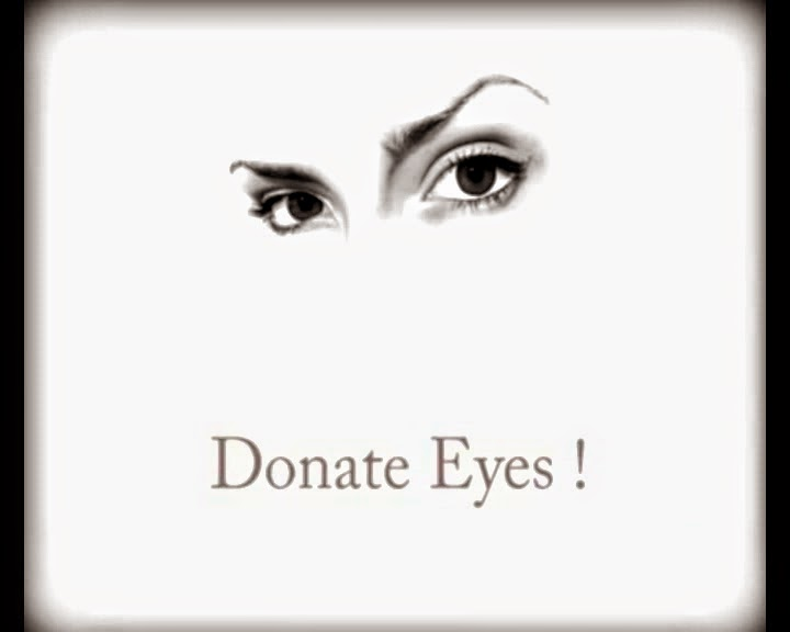 essay on eye donation Eye donation it is an act of charity, purely for the benefit of the society and is totally voluntary the eye donation of the deceased can be authorized by the next of kith & kin even if the deceased did not pledge to donate his / her eyes before death.