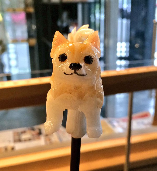 14-Dog-Ame-shin-Amezaiku-Japanese-Art-of-Candy-Animal-Sculptures-www-designstack-co