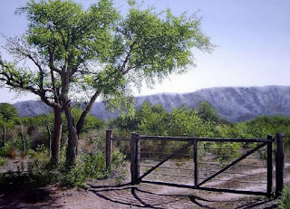 Puertas de Madera Entrada al Paisaje Campesino