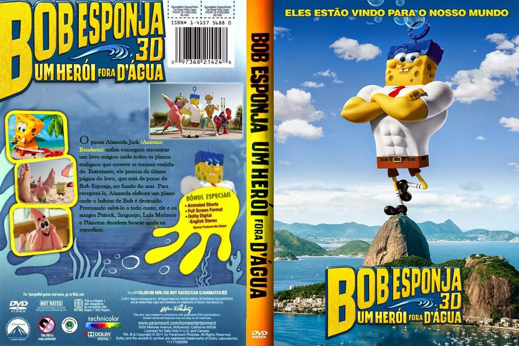 Bob Esponja Um Herói Fora D'Água HDRip XviD Dual Áudio Bob 2BEsponja 2B 2BUm 2BHer C3 B3i 2BFora 2BD  C3 81gua 2B