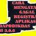 Mengatasi Gagal Registrasi Aplikasi Dapodikdas 3.0.0