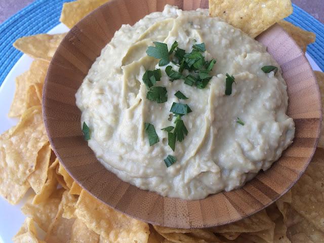 Recipe:  Side, Recipe:  Beans, Recipe:  Snack, Copycat Recipes, Costco's Hope Spicy Avocado Hummus Dip, Costco hummus, best hummus ever, Healthy, Deals to Meals