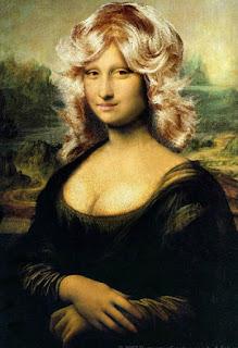 blond mona lisa