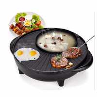 BBQ STEAMBOAT GRILL POT