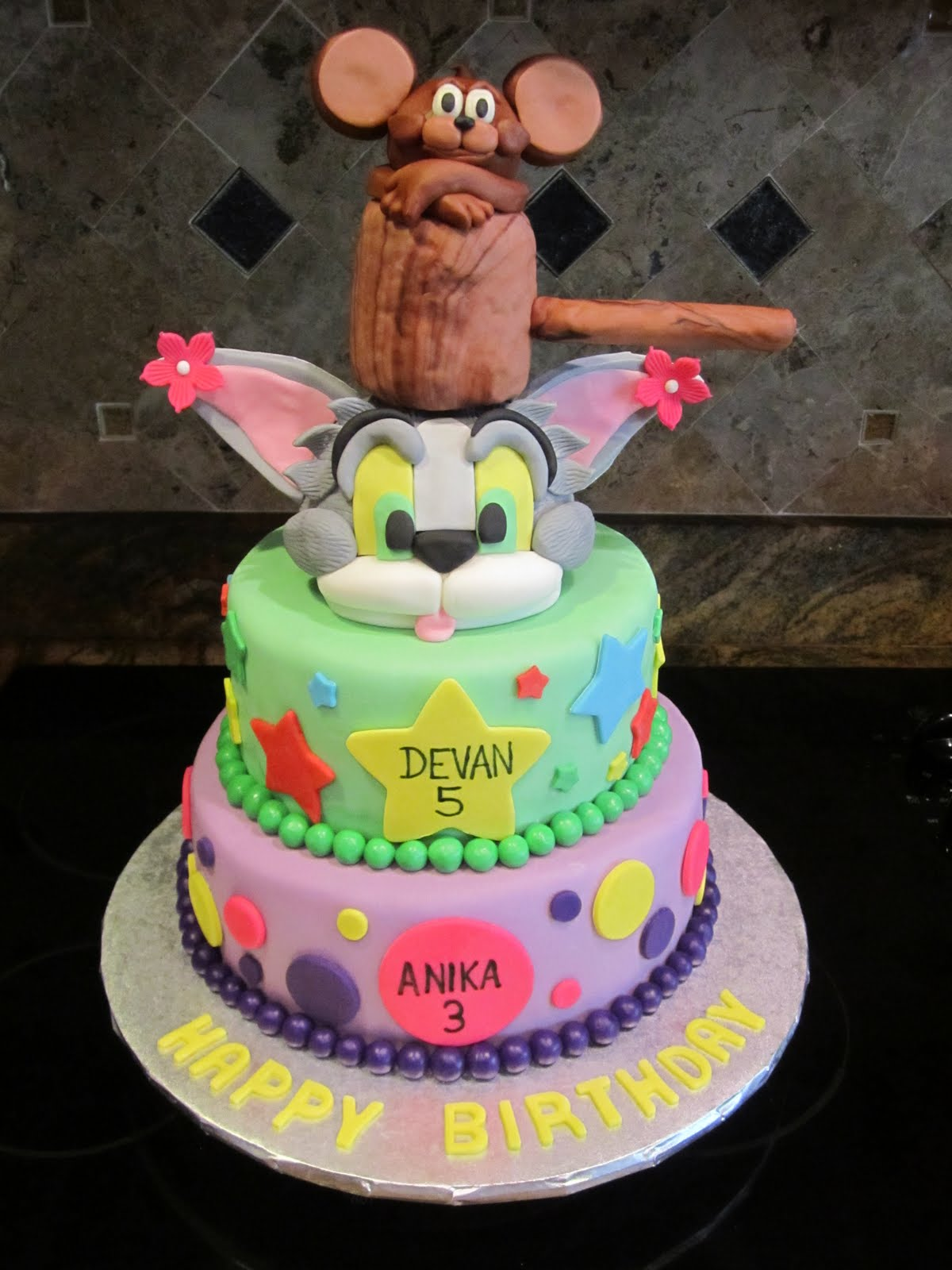 Sweet Melissas Tom And Jerry Cake