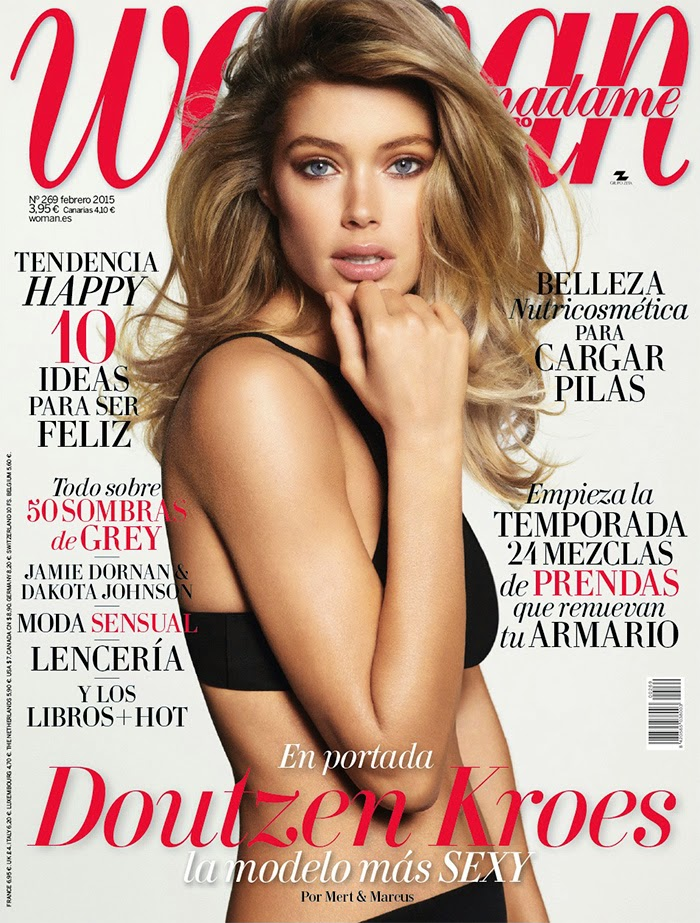 Model, Actress, Victoria'S Secret Angel: Doutzen Kroes By Mert & Marcus For Woman Madame Figaro