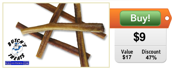 the coupon faerie daily deal bully sticks. Black Bedroom Furniture Sets. Home Design Ideas