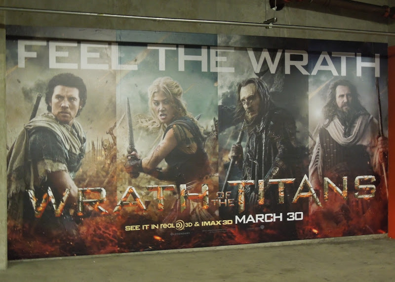 Wrath of Titans poster ad