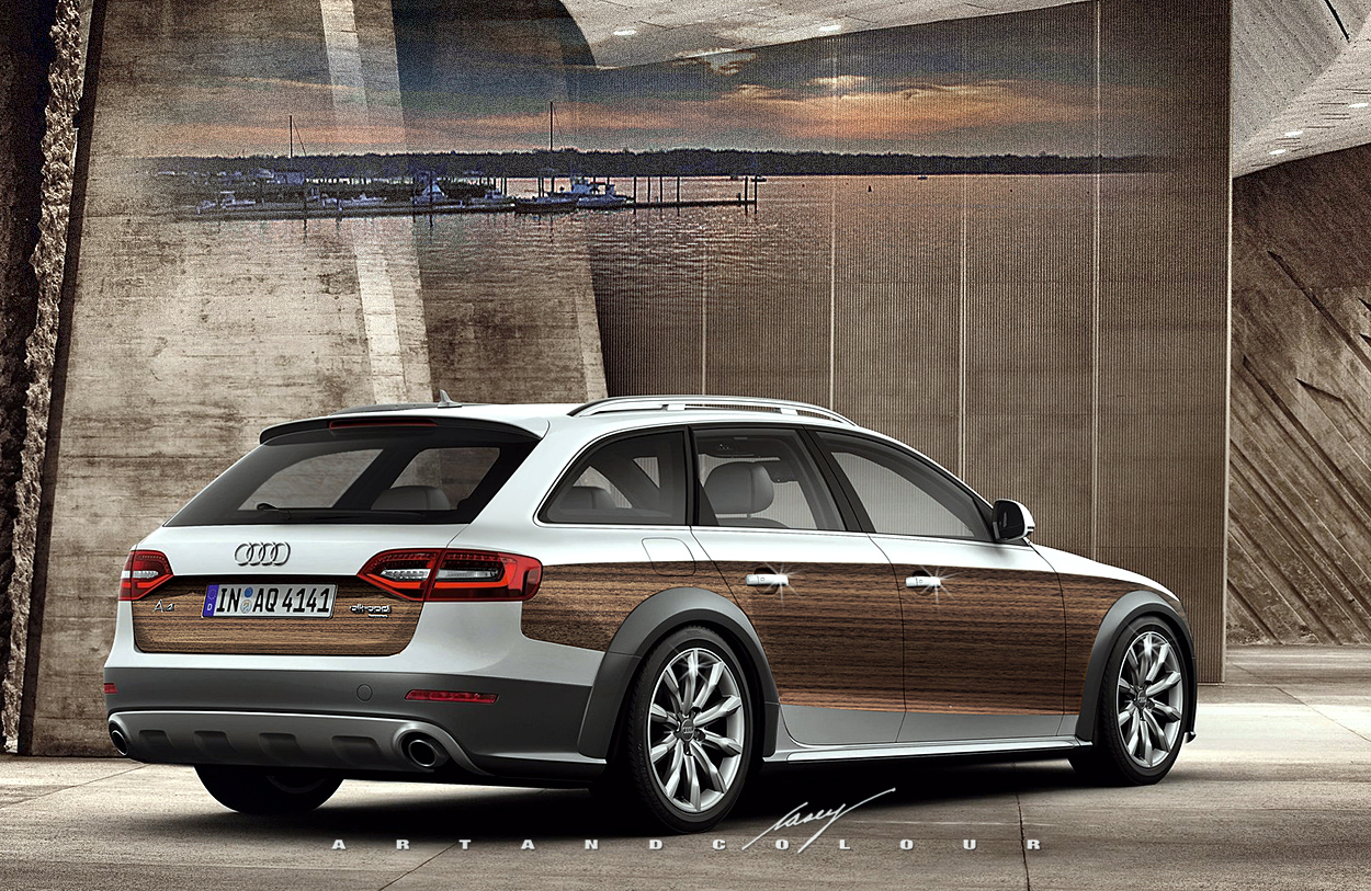 Audi A4 Allroad Black Forest Edition