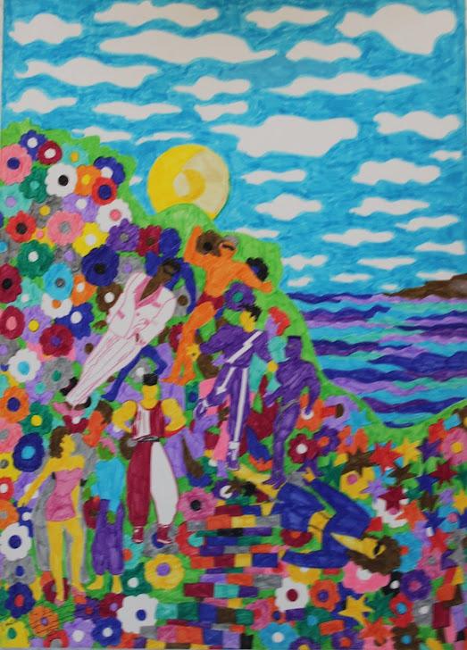 El mar de colores 5-7-90
