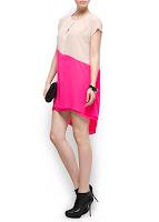 mango kısa elbise modeli