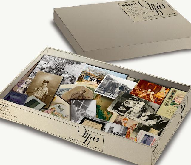 caja de zapatos, fotos, dibujo, efimera, Museo Etnologia Valencia