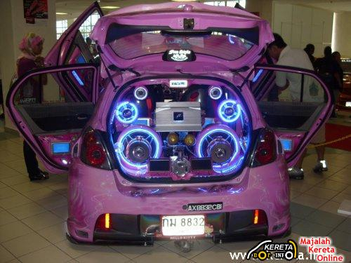 Subwoofer car setup