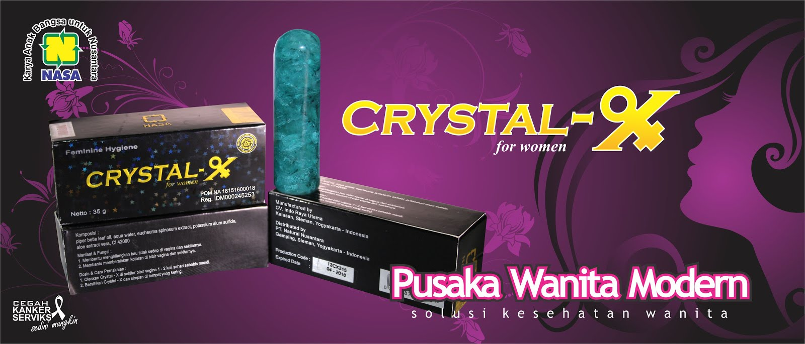 Crystal X Pusaka Wanita Modern
