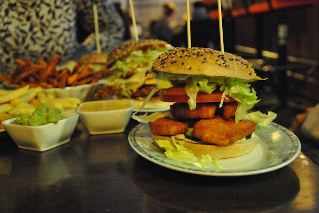 Burgeramt - Halloumiburger Tzaziki