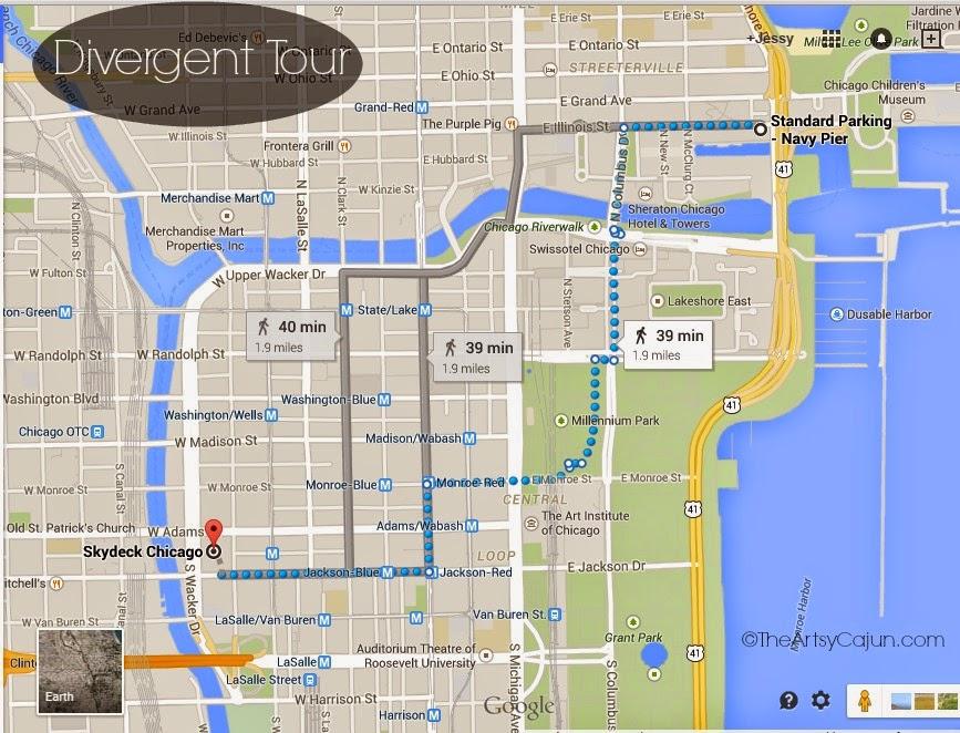 Divergent Walking Tour | The Artsy Cajun on