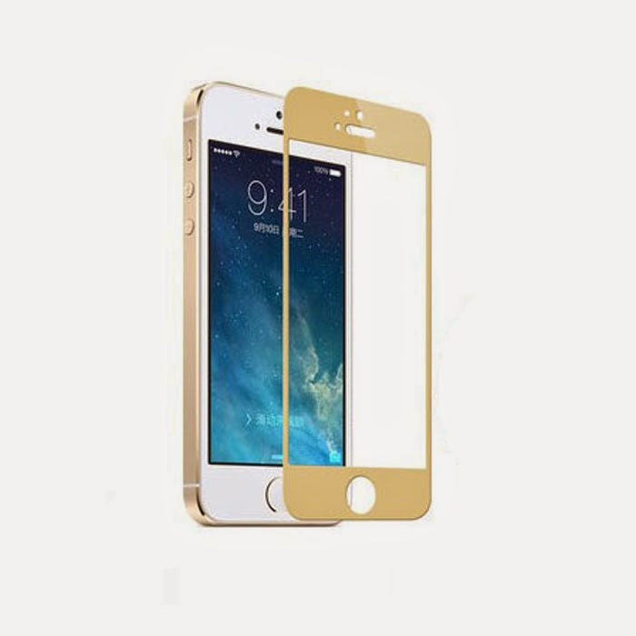 Colorful Tempered Glass Film Screen Protector for iPhone 5 5S 5C