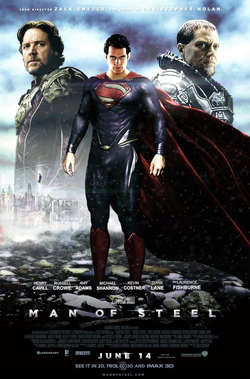 Man of Steel 2013 poster