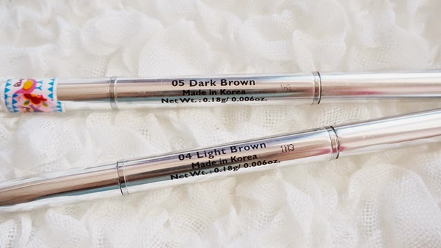 wiida malaysia beauty blogger cyber colors auto eyebrow pencil review