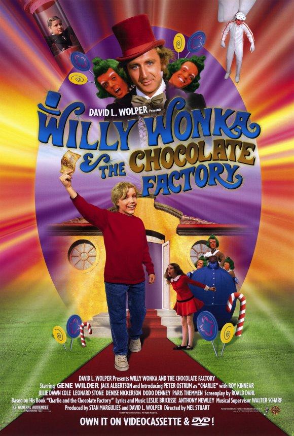 Willy Wonka y la Fábrica de Chocolate DVDRip Español Latino 1971