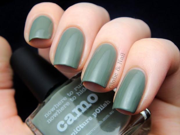 globe & nail polish camo