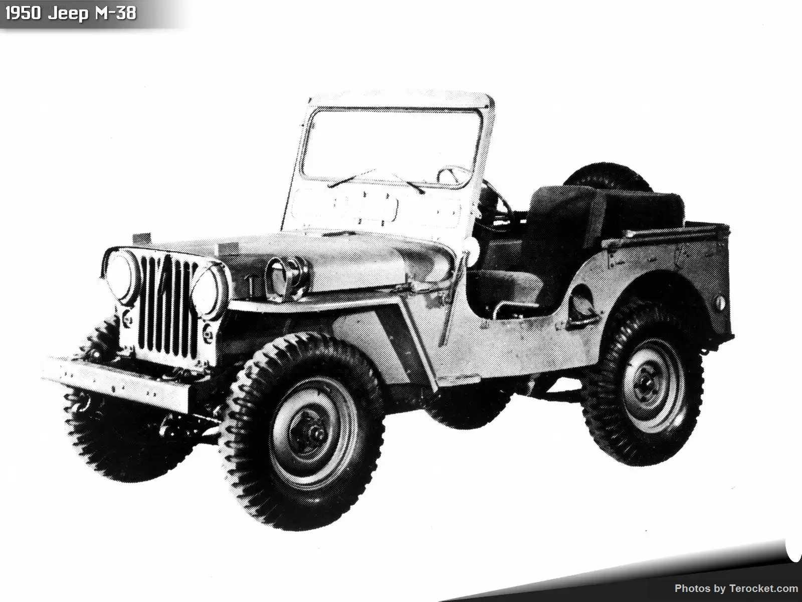Hình ảnh xe ô tô Jeep M-38 1950 & nội ngoại thất