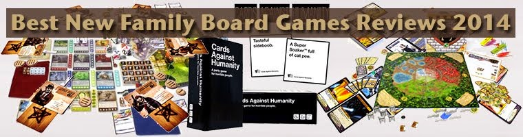 Top Family Board Games | Best New Family Board Games Reviews 2014