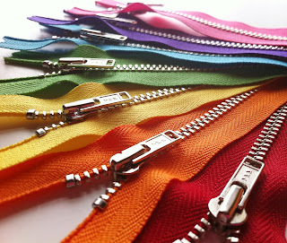 "YKK 12"" Metal Zippers"