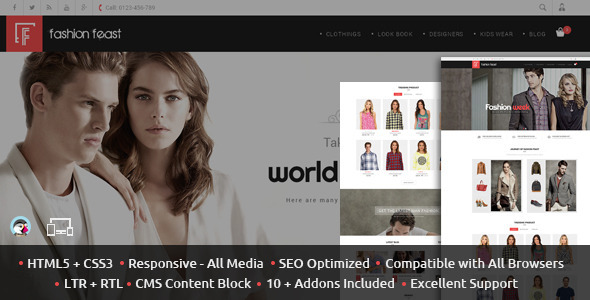 Fashion Feast Prestashop Theme